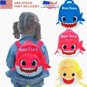 Baby Shark Backpack For Children/Toddlers